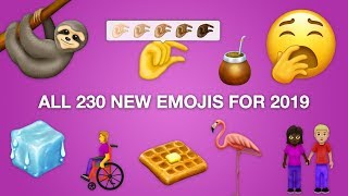 🙌 First Look: All 230 New Emojis for 2019