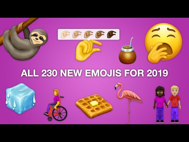 Inclusive new emojis for 2019 include a wheelchair user