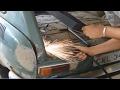 VW Variant 1970 Ruth Raquel #05 - Início da funilaria!