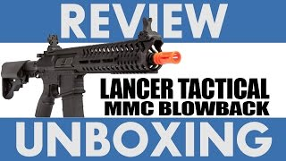 Lancer Tactical MMC Electric Blowback Rifle | Unboxing & Review