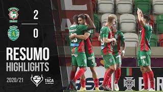Highlights   Resumo: Marítimo 2-0 Sporting (Taça de Portugal 20/21)