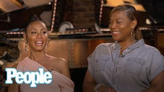 Jada Pinkett Smith & Queen Latifah On First Meeting, Almost 30-Year Friendship | People NOW | People