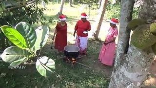 Biryani Recipe ❤ Special Chicken Biryani prepared by Grandma, Mom & Daughter   Village Life