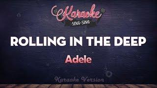 Adele - Rolling In The Deep (Karaoke Version)
