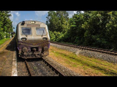 Beautiful Monsoon Journey on Konkan Railway's DEMU