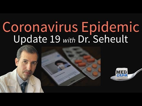Coronavirus Epidemic Update 19: Treatment and Medication Clinical Trials
