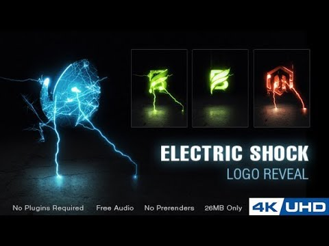 Electric Shock Logo Reveal | After Effects Template | Logo ...