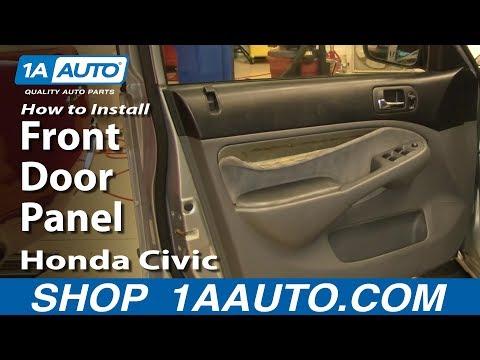 How To Remove Front Door Panel 01-05 Honda Civic