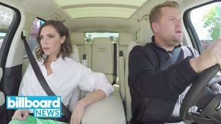 Victoria Beckham & James Corden Remake 'Mannequin,' Sing Spice Girls Karaoke | Billboard News