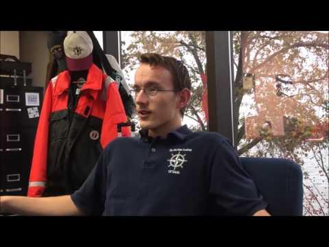 The Maritime Academy of Toledo trainees on the U.S. Brig NIAGARA