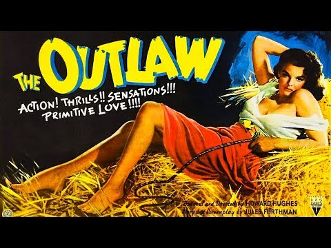 The Outlaw (1943) Jane Russell - Western old movie