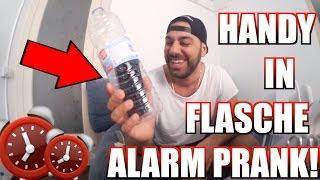 HANDY in FLASCHE ALARM PRANK!! |  FaxxenTV
