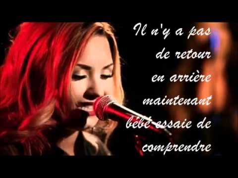 demi lovato give your heart a break traduction en fran aise youtube. Black Bedroom Furniture Sets. Home Design Ideas