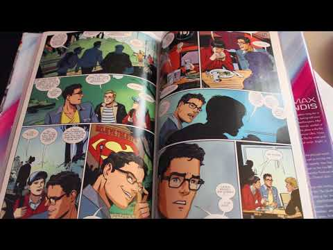 ASMR Comic Book Sample Whisper Reading | Superman American Alien and Prince of Cats