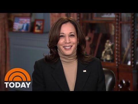 Vice President Kamala Harris Talks About Schools Reopening, Vaccine Distribution, More | TODAY