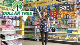 Dollar Tree Back to School Shop With Me!  Everything New at Dollar Tree