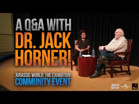 Dr. Jack Horner Q&A (Video) | First Official Jurassic World Community Event | April 2