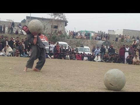 Stone lifting saeed khan kts haripur