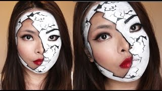 Broken Doll Halloween Makeup Thumbnail