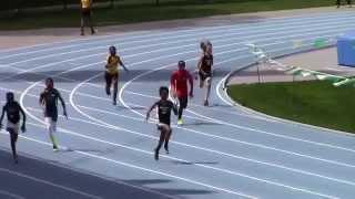 Icahn Stadium 2015 11 & 12 boys 200m Elijah Sommervill