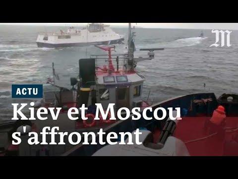 Violences en mer entre la Russie et l'Ukraine