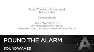 Nicki Minaj - Pound The Alarm (Instrumental) (Official)