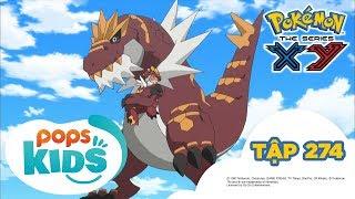 Pokémon Tập 274 - Sự Ân Cần Của Yurika! Chigorasu Mít Ướt - Hoạt Hình Pokémon Tiếng Việt S18 XY