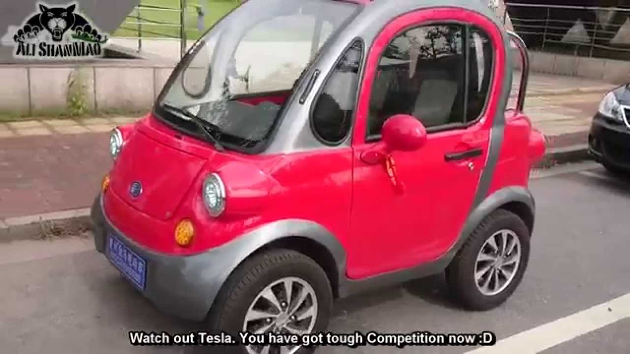 Made In China Two Seater Electric Car Youtube