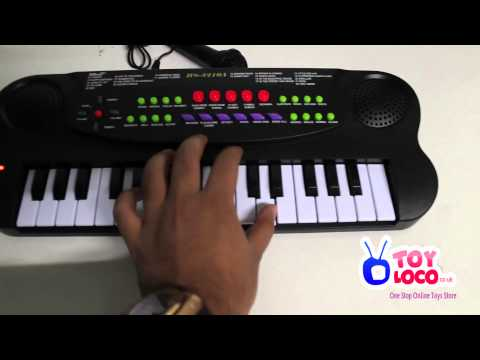 WWW.TOYLOCO.CO.UK Music Maker Electronic Keyboard Kids Piano HS3210