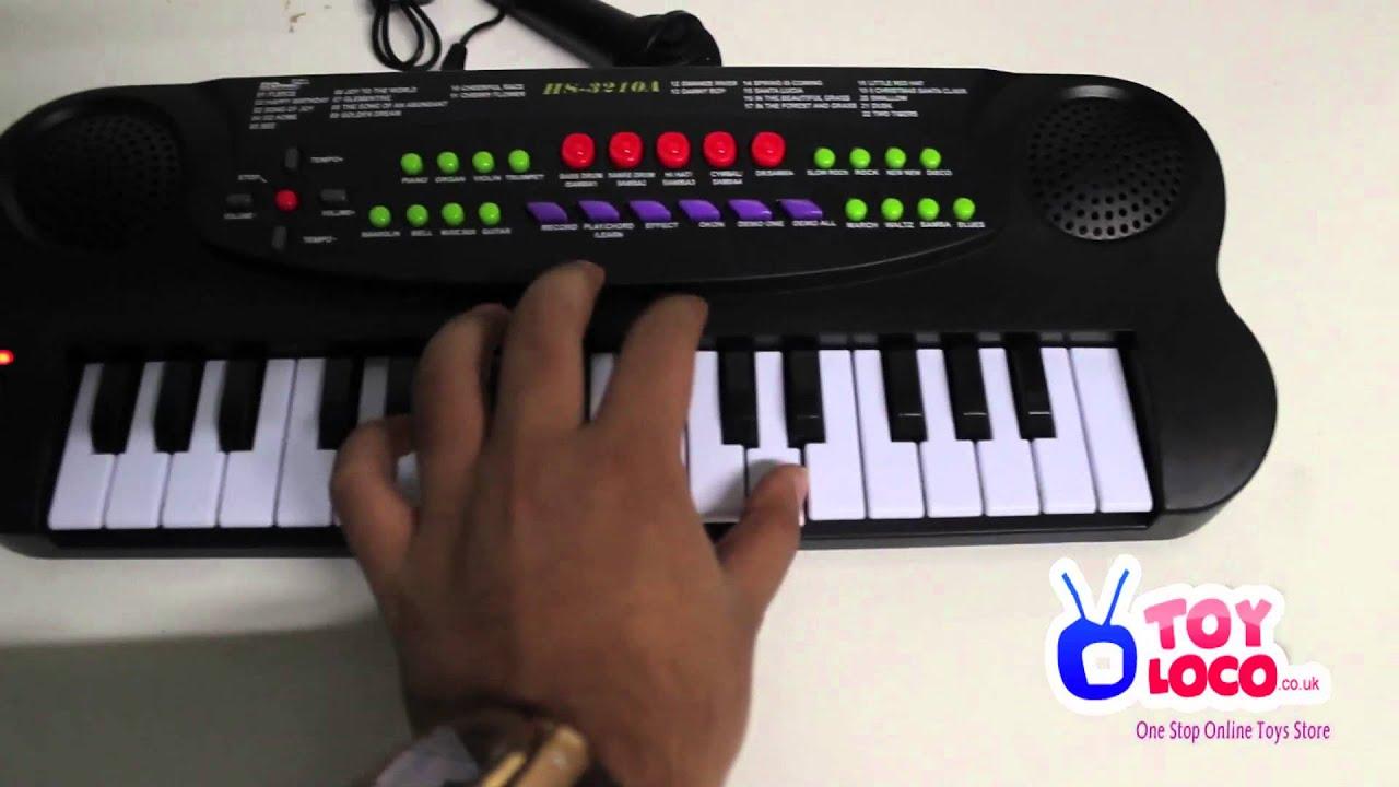 WWW TOYLOCO CO UK Music Maker Electronic Keyboard Kids Piano HS3210