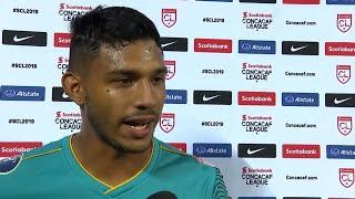 Jorman Aguilar de Independiente en entrevista