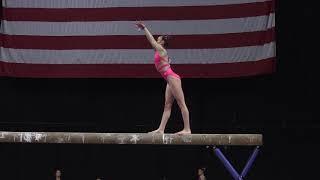Alexis Jeffrey - Balance Beam – 2018 U.S. Gymnastics Championships – Junior Women Day 1