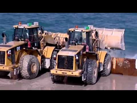 Free Videos - Construction of Palm Jumeirah Dubai - Palm Island Dubai