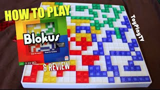 BLOKUS - How to Play and Game Review / ToyPlayTV