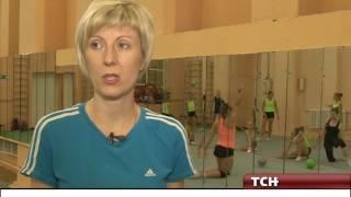 Тульские гимнастки тренируются в бывшем храме
