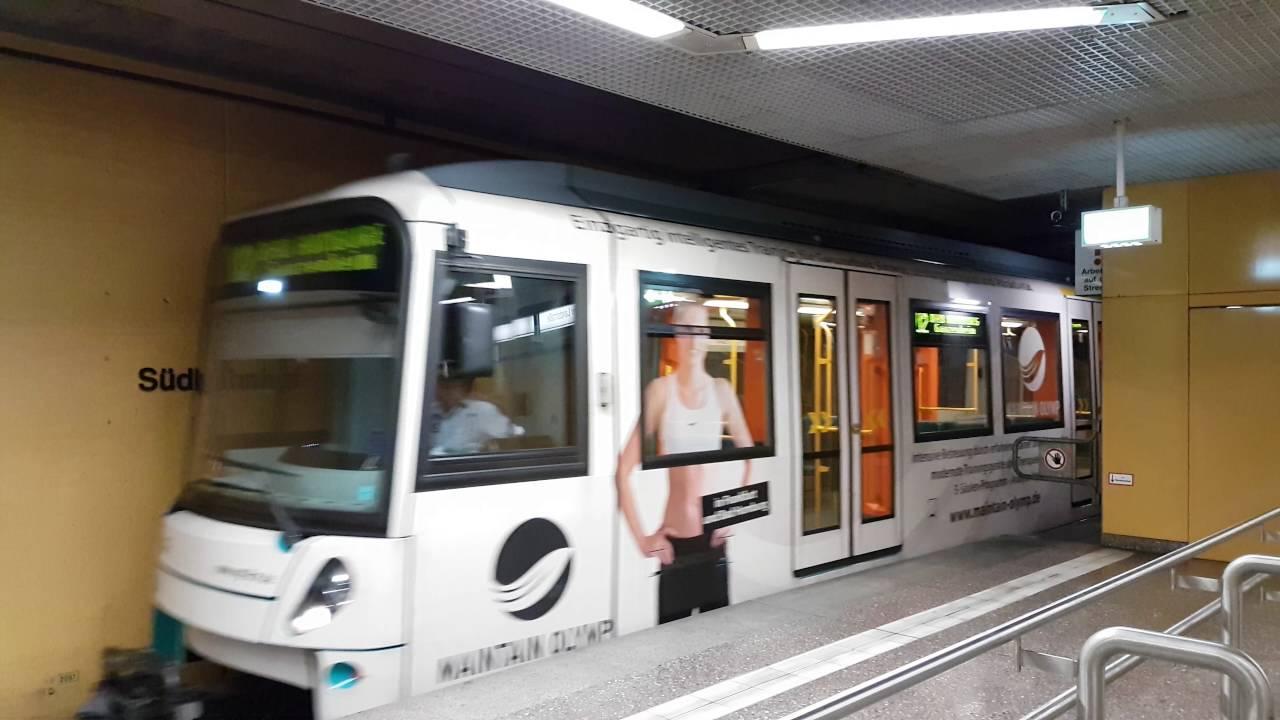 Frankfurt U Bahn Netz