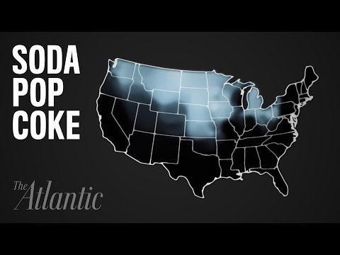 Mapping How Americans Talk - Soda vs. Pop vs. Coke