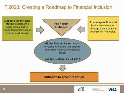Financial Inclusion 2020 Webinar