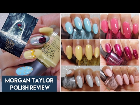 Beauty And The Beast Nail Polish Collection By Morgan Taylor Review + Swatches