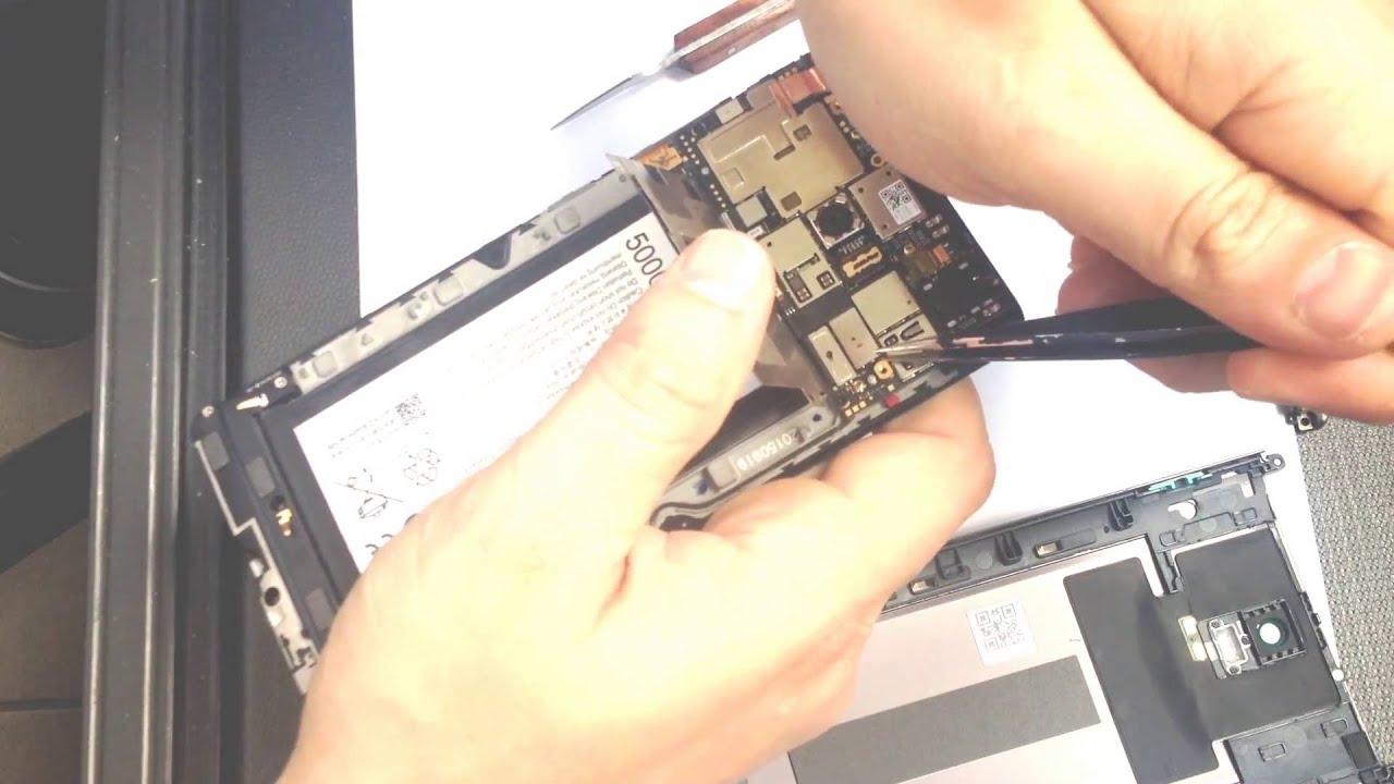 Disassembly Lenovo Vibe P1 P1a42