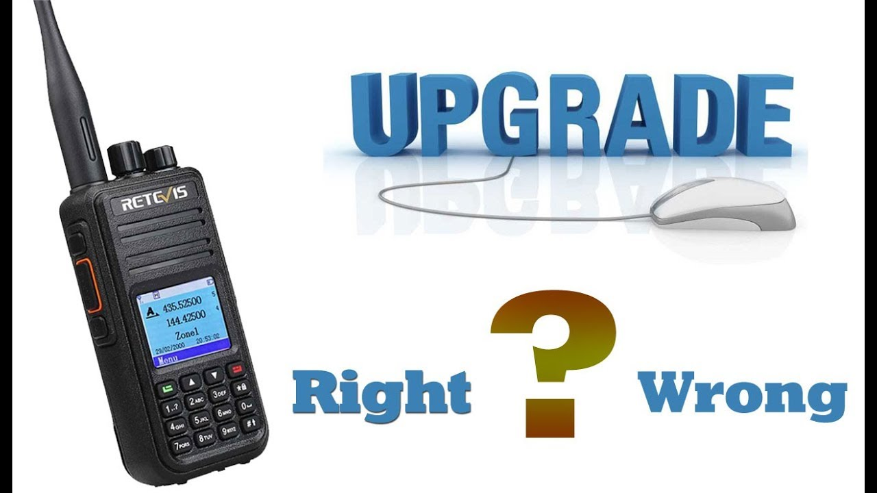 RT3S firmware correct upgrade operation and wrong operation