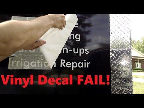 Copper Creek Cuts - DIY Vinyl Lettering Application for 5x10 Enclosed Utility Trailer