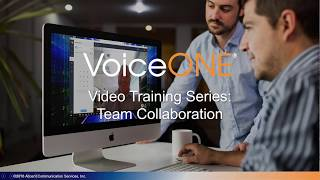 VoiceONE Connect Team Collaboration