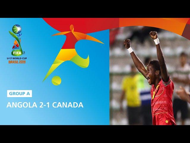 Angola v Canada Highlights - FIFA U17 World Cup 2019 ™