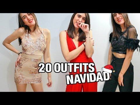 20 OUTFITS Para NAVIDAD: Nochevieja, Nochebuena, Cenas, Fiestas...   LOOKS De FIESTA   Eva Molina