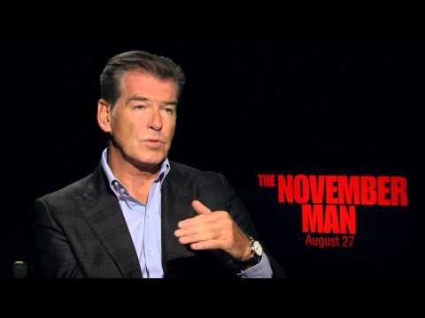 """The November Man: Pierce Brosnan """"Peter Devereaux"""" Official Movie Interview"""