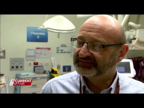 """RMH Emergency Department on """"A Current Affair"""" -  04 Jan 2017"""