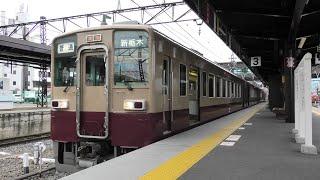 【リバイバルカラー4両】東武6050系6050型6162F+6179F 普通新栃木行 下今市出発【4K】