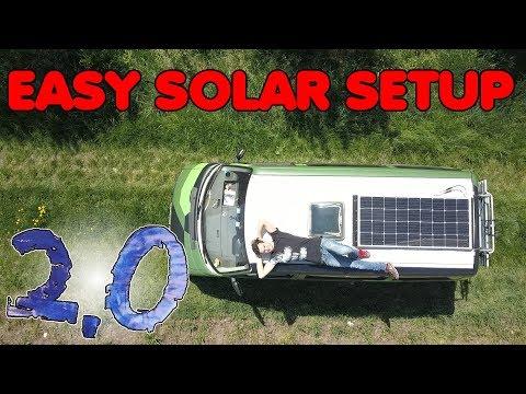 Easy Solar Setup für den VW Bus! | Umbau 2.0 F. 02