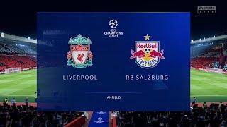 FIFA 20 | Liverpool 3 - 2 RB Salzburg | UEFA Champions League Highlights